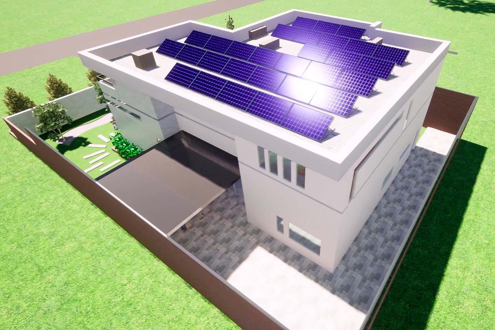 Начато проектирование современной системы энергообеспечения для коттеджного городка