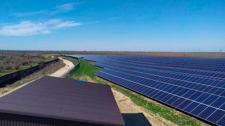 Таванська 4 - промислова сонячна електростанція фото