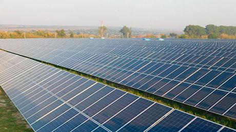 Виноградове сонячна електростанція фото
