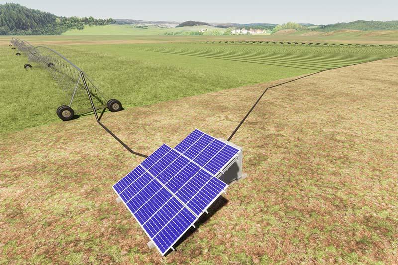 Модуль автономного енергозабезпечення поливу