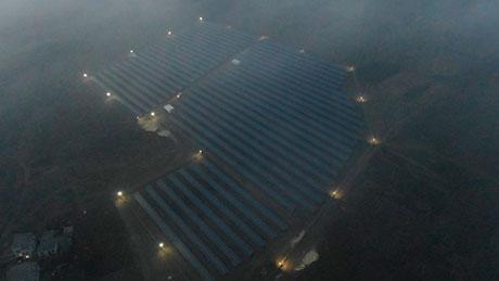 Златопільска сонячна електростанція фото