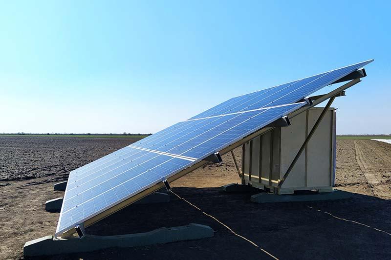 Модуль автономного енергозабезпечення поливу сільськогосподарських угідь WATERFALL