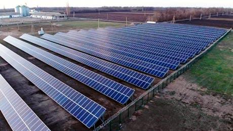 Наземная солнечная электростанция Лан