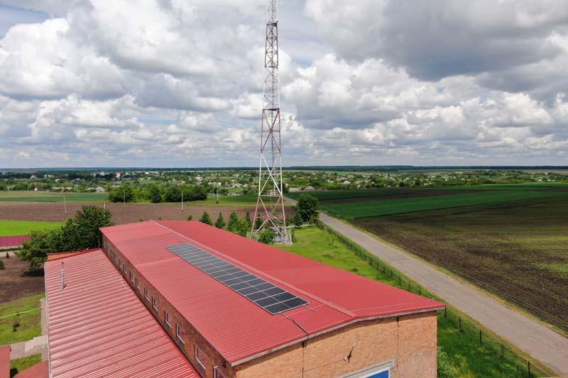 Крышная солнечная электростанция 10 кВт