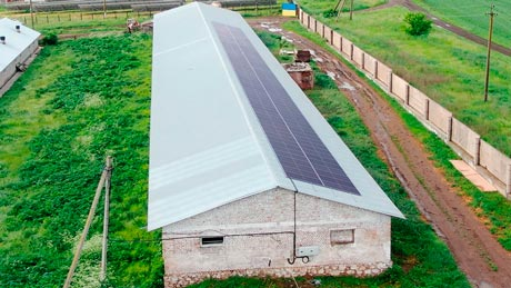 Дахова сонячна електростанція Sunrise 60 кВт